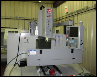HAAS CNC 3 Axis Mill