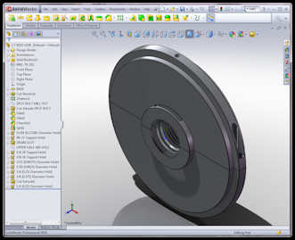 Solidworks software with Joy TA-18 Air Seal